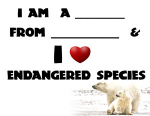 I Love Endangered Species